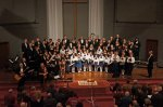 Kim Sueoka and David Burk with Ames Children's Choirs and Ames Chamber Artists