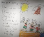 Letter from Monroe Elementary School student, Des Moines, IA