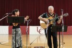 Kim Sueoka and David Burk at United Community School, Boone, IA