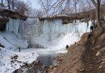 Minnehaha Falls, March 2013