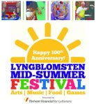 Lyngblomsten Mid-Summer Festival flier
