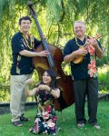 David Burk, Kim Sueoka & Rahn Yanes at Minnehaha Creek, 2011 (photo credit: Renee Indehar)