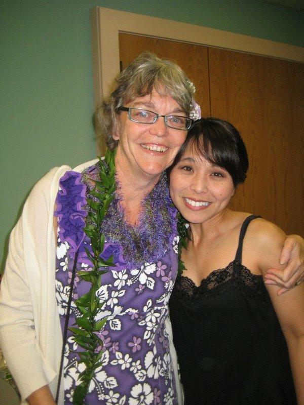 Hali Lindsay and Kim Sueoka
