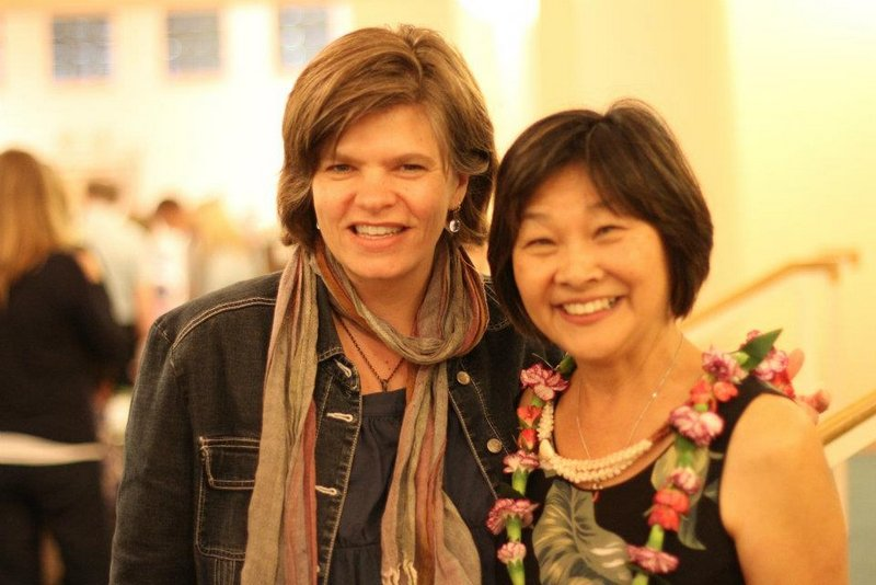 Linda Kachelmeier and Jan