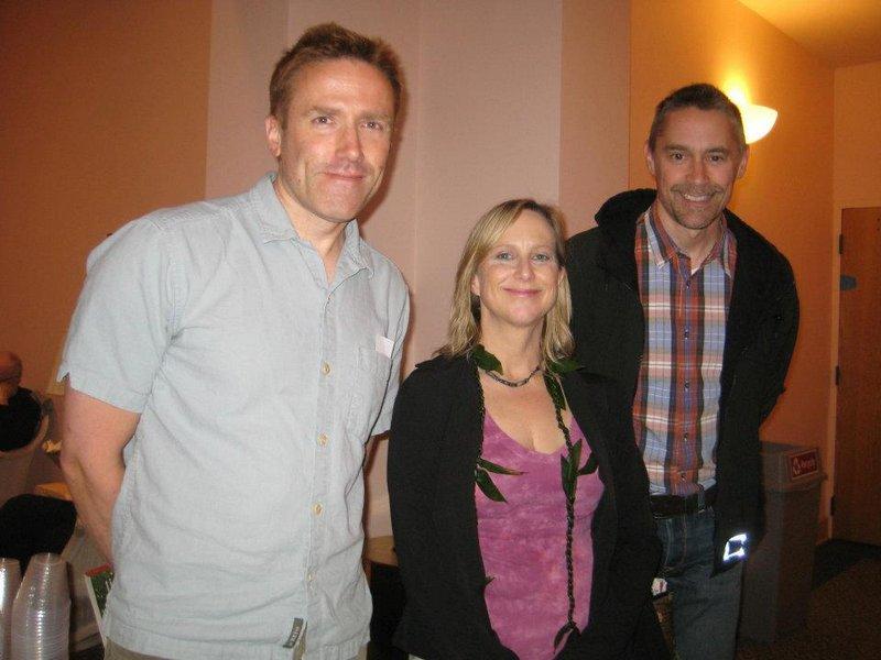 Ian Westray, Ginna Watson, Mike Moore