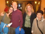 Paige Whitney, Paul Cantrell, Karen Moon, Stella Anderson
